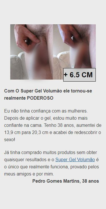 resenha sincera super gel volumão