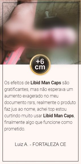 resultados sinceros do libid man caps