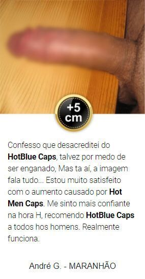 hotblue caps depoimentos