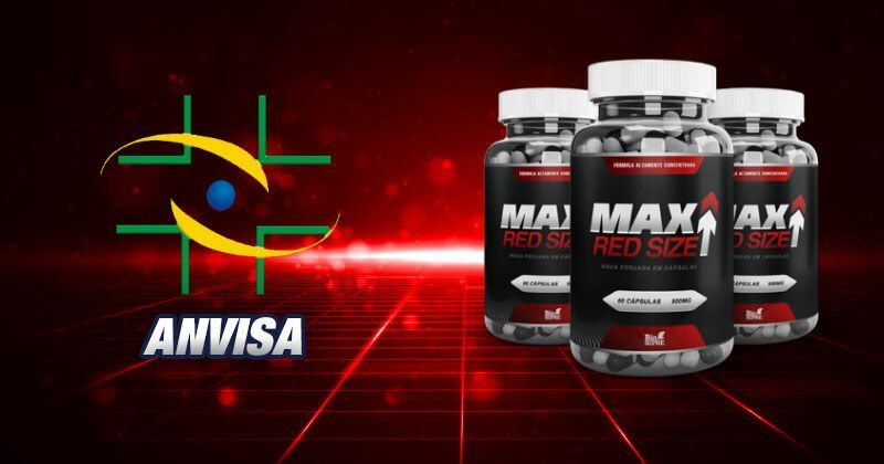 max red size anvisa